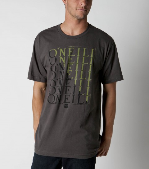 Surf O'Neill mens 100% ringspun cotton; prewashed 30 singles slim fit t-shirt with softhand screenprint. - $14.99