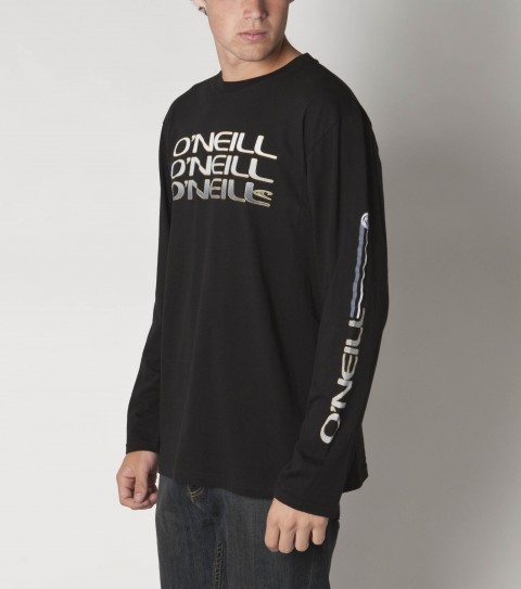 Surf O'Neill Cache Tee 100% ringspun cotton; with soft hand screenprint - $28.00