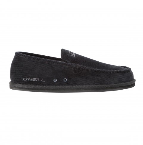 Surf O'Neill Surf Turkey Low Slippers.  Low top surf boot with cotton canvas and tweed upper, paddedtricot lined footbed, sherpa lined sidewalls, rubber outsole and embroidered logos. - $44.50