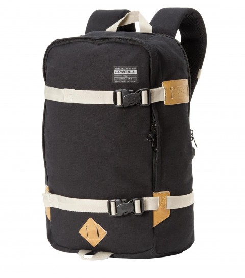 Camp and Hike O'Neill Mount Rainier Backpack.  14oz. canvas bag with large main compartment, fleece lined hanging pocket, internal wet / dry pocket, gear straps and cotton canvas. - $37.99