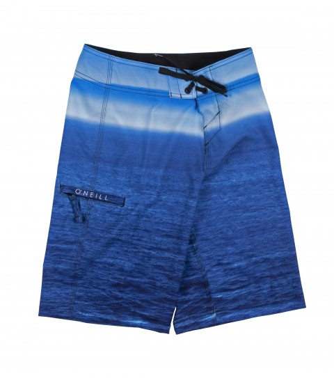 Surf O'Neill Boys Fogbank Boardshorts.  Epicstretch.  Engineered print; superfly 2.0 closure; side welt pocket; appliqued and screened logos. - $48.00