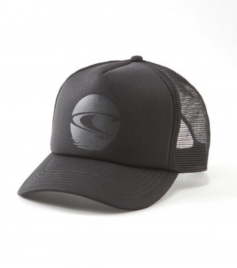 Surf O'Neill Boys Rising Hat. Polyester / foam / mesh. 5 Panel trucker hat with front plastisol screen and rear woven label; snap back closure and slight curved visor. - $9.99