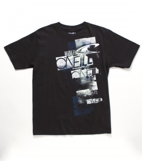 Surf O'Neill Boys Tracked Down Tee.  50% Cotton / 50% Poly.  30 Singles premium fit heather tee withsofthand screenprint. - $20.00