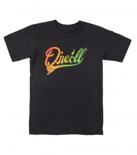 Surf O'Neill 100% cotton; 20 singles basic fit kids tee shirt with softhand screenprint and attached hem label. - $13.99