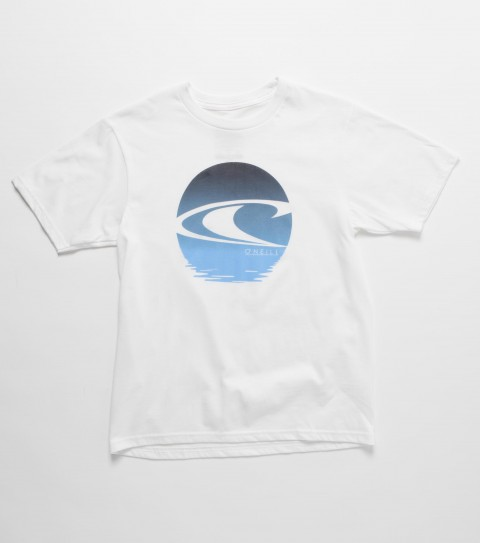 Surf O'Neill Kids Ripple Tee.  100% Cotton.  20 Singles basic fit tee with softhand screenprint. - $16.00