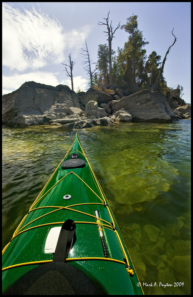 Kayaking On Flathead Lake In Montana Thrill On