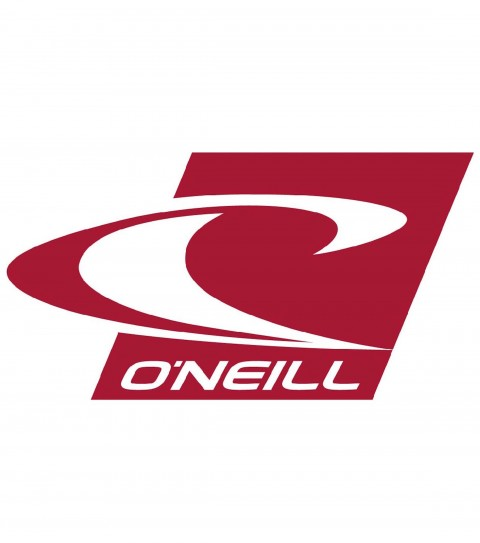 Surf The O'Neill Surf Icon Sticker.  Thermal die cut.  Wave logo; corporate font; 3'' Length; 4.25'' Length of middle. - $3.00