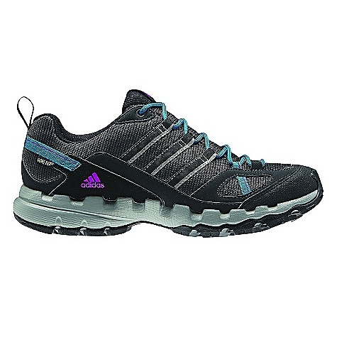 Camp and Hike Free Shipping. Adidas Women's AX 1 GTX Shoe DECENT FEATURES of the Adidas Women's AX 1 GTX Shoe Lining: Gore-Tex Extended Comfort Footwear-Waterproof and breathable Ideal for higher activity levels Sockliner: Molded sockliner to enhance comfort and fit Midsole: Lightweight EVA midsole for long term cushioning Outsole: Super High TRAXION Rubber for optimal grip in wet conditions The SPECS Weight: 11 oz / 325 gram - $119.95