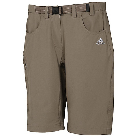 Camp and Hike On Sale. Free Shipping. Adidas Women's Hiking Flex Short DECENT FEATURES of the Adidas Women's Hiking Flex Short For high intense mountain sport activities 4-WAY stretch highly stretch able fabric for improved freedom of movement Combined with W TX 3/4 Tight for ideal mountain sports outfit For motion Ultimate performance and comfort while in motion The SPECS 100% Polyester Dobby 85 g - $35.99