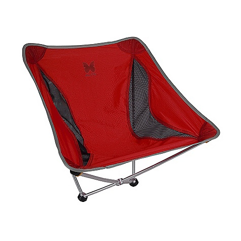 Camp and Hike On Sale. Free Shipping. Alite Monarch Chair DECENT FEATURES of the Alite Monarch Chair Breathable, Comfy sling does a body good Fits in this stuff Sack, Fit in your Bag Incredibly light, take it everywhere Legs made for rockin Super-Strong structure The SPECS Capcity: 250 lbs Weight: 1.15 lbs 210D ripstop nylon 450D Polyester: printed 7000 series aluminum Folded Dimension: 12.0in. x 4.5in. x 4.5in. Unfolded Dimension: 23.0in. x 1.5in. x 17.0in. Seat Height: 7in. - $53.99