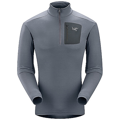Free Shipping. Arcteryx Men's RHO LTW Zip Top DECENT FEATURES of the Arcteryx Men's RHO LTW Zip Top Warm-when-wet Minimal odor retention No-lift gusseted underarms Chest half zip Mountain Merino wool/spandex blend fabric has a great warmth-to-weight ratio Stays warm when wet and doesn't retain odors One laminated chest pocket with laminated zipper Chest half-zipper for improved venting, easy on/off Gusseted underarms for increased mobility Activity: All Around We are not able to ship Arcteryx products outside the US because of that other thing. We are not able to ship Arcteryx products outside the US because of that other thing. We are not able to ship Arcteryx products outside the US because of that other thing. The SPECS Weight: (M): 9.8 oz / 279 g Fit: Next-to-skin Fabric: Mountain Merino wool Care Instructions Machine wash in warm water Wash dark colors separately Use wool detergent Do not use fabric softener Do not leave wet Tumble dry on low heat Iron on low heat This product can only be shipped within the United States. Please don't hate us. - $128.95