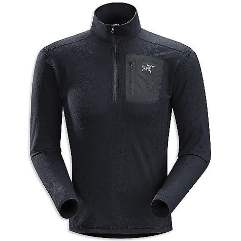 Free Shipping. Arcteryx Men's RHO LT Zip Top DECENT FEATURES of the Arcteryx Men's RHO LT Zip Top Light-weight moisture wicking fabric has great warmth-to-weight ratio One laminated chest pocket with laminated zipper Half-zipper for improved venting, easy on/off Gusseted underarms for increased mobility We are not able to ship Arcteryx products outside the US because of that other thing. We are not able to ship Arcteryx products outside the US because of that other thing. We are not able to ship Arcteryx products outside the US because of that other thing. The SPECS Weight: (M): 6.7 oz / 190 g Fit: Next-to-skin Fabric: Rentex Powerflex This product can only be shipped within the United States. Please don't hate us. - $118.95