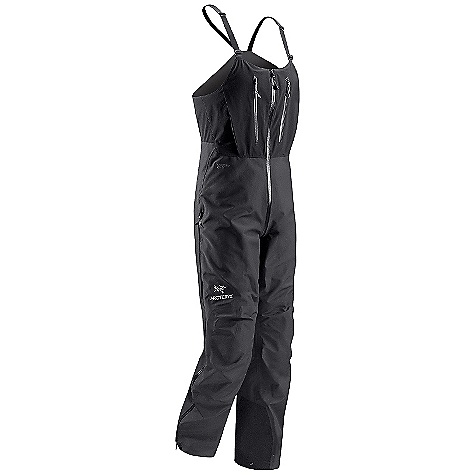 Climbing Free Shipping. Arcteryx Men's Alpha SV Bib DECENT FEATURES of the Arcteryx Men's Alpha SV Bib Waterproof Breathable Micro-seam allowance (1.6 mm) reduces bulk and weight Tiny Gore seam tape (13 mm) Laminated trim on bib reduces bulk and increases comfort Articulated knees and seat Gusseted crotch Molded zipper garages Side zippers stop below harness/ hipbelt area Adjustable pant cuffs with lace hook Two internal chest pockets Laminated waist drawcord High-cut breathable stretch-woven bib E3D anatomical patterning and fit for unrestricted movement 3/4 length Water Tight side zippers stop below harness and hip belt Water Tight through the crotch zipper Two pleated bib pockets Keprotec in-step patch Quick adjust suspenders and laminated internal belt Activity: Alpine Climbing We are not able to ship Arcteryx products outside the US because of that other thing. We are not able to ship Arcteryx products outside the US because of that other thing. We are not able to ship Arcteryx products outside the US because of that other thing. The SPECS Weight: (M): 22.2 oz / 628 g Length: Short, Regular, Tall Fit: Athletic Fabric: N150p Gore-Tex Pro 3L Schoeller Dynamic GNS Care Instructions Machine wash in warm water Double rinse Wash dark colors separately Do not use fabric softener Remove immediately Do not leave wet Tumble dry on medium heat Do not iron This product can only be shipped within the United States. Please don't hate us. - $498.95