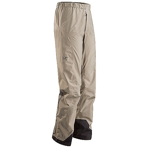 On Sale. Free Shipping. Arcteryx Men's Alpha SL Pant DECENT FEATURES of the Arcteryx Men's Alpha SL Pant Very compact, lightweight Gore-Tex fabric with Paclite fabric technology body reinforced with N150p-x Gore-Tex with Paclite fabric technology in high wear areas Trim leg fit reduces crampon snags and allows for better layering Full-length side zippers allow easy entry and rapid ventilation front fly zip Dual low profile waist adjusters allow for perfect fit and comfort when paired with a harness or pack waistbelt Hem drawcords, reinforced instep patches, stowable boot lace hooks We are not able to ship Arcteryx products outside the US because of that other thing. We are not able to ship Arcteryx products outside the US because of that other thing. We are not able to ship Arcteryx products outside the US because of that other thing. The SPECS Weight: M: 12.9 oz / 367 g Fit: Athletic with e3D, trim lower leg N40r Gore-Tex fabric with Paclite product technology N150p-x Gore-Tex fabric with Paclite product technology reinforcements This product can only be shipped within the United States. Please don't hate us. - $138.99