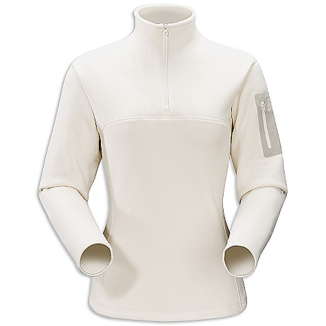 On Sale. Free Shipping. Arcteryx Women's RHO AR Top DECENT FEATURES of the Arcteryx Women's RHO AR Top Mid-weight moisture wicking fabric has great warmth-to-weight ratio Laminated chest pocket with laminated zipper Collar zipper for improved venting, easy on/off We are not able to ship Arcteryx products outside the US because of that other thing. We are not able to ship Arcteryx products outside the US because of that other thing. We are not able to ship Arcteryx products outside the US because of that other thing. The SPECS Weight: (M): 9 oz / 255 g Fit: Trim fit Fabric: Polartec Power Stretch This product can only be shipped within the United States. Please don't hate us. - $99.99