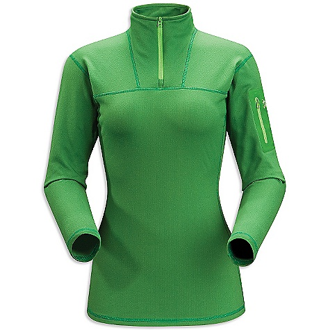 Free Shipping. Arcteryx Women's RHO LT Zip Top DECENT FEATURES of the Arcteryx Women's RHO LT Zip Top Mid-weight moisture wicking fabric has great warmth-to-weight ratio One laminated sleeve pocket with laminated zipper Collar zipper for improved venting, easy on/off Gusseted underarms for increased mobility We are not able to ship Arcteryx products outside the US because of that other thing. We are not able to ship Arcteryx products outside the US because of that other thing. We are not able to ship Arcteryx products outside the US because of that other thing. The SPECS Weight: (M): 5.9 oz / 167 g Fit: Next-to-skin Fabric: Rentex Powerflex This product can only be shipped within the United States. Please don't hate us. - $118.95