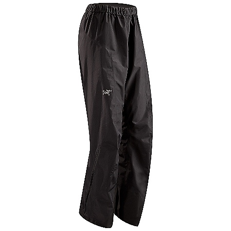 On Sale. Free Shipping. Arcteryx Women's Alpha SL Pant DECENT FEATURES of the Arcteryx Women's Alpha SL Pant Very compact, lightweight Gore-Tex fabric with Paclite product technology Trim leg fit reduces crampon snags and allows for more effective layering Full-length side zippers allow easy entry and rapid ventilation Dual low profile waist adjusters allow for perfect fit and comfort when paired with a harness or pack waistbelt Hem drawcords, reinforced instep patches, and stowable boot lace hook grommets Front fly zip We are not able to ship Arcteryx products outside the US because of that other thing. We are not able to ship Arcteryx products outside the US because of that other thing. We are not able to ship Arcteryx products outside the US because of that other thing. The SPECS Weight: M: 12.0 oz / 341 g N40r Gore-Tex fabric with Paclite product technology N150p-x Gore-Tex fabric with Paclite product technology reinforcements Fit: Athletic with e3D, trim lower leg This product can only be shipped within the United States. Please don't hate us. - $148.99