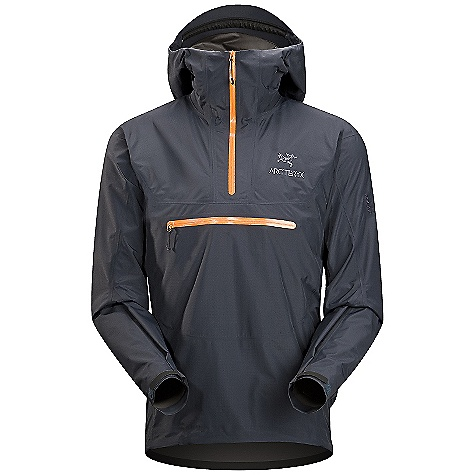 On Sale. Free Shipping. Arcteryx Men's Alpha SL Pullover DECENT FEATURES of the Arcteryx Men's Alpha SL Pullover Waterproof Snow-shedding Windproof Breathable Lightweight Compressible and packable Fully seam-sealed for waterproofness Laminated high-strength hanger loop DWR finish (Durable Water Repellent) helps bead water from fabric surface GORE-TEX two-layer construction One-hand adjustable drawcords Generous cut for easy layering Anatomical shaping for fit and comfort Gender specific patterning Articulated patterning for unrestricted mobility No-lift gusseted underarms Laminated brim Glove-friendly hood adjusters Helmet compatible Speed Hood Laminated chin guard WaterTight external zippers Pit zippers for easy venting Side zipper access Corded zipper-pulls reduce noise and are easy to grab Laminated die-cut Velcro cuff adjusters reduce bulk, and won't catch or tear off Drop back hem Adjustable hem drawcord Laminated hem Embroidered logo Non-chafing label We are not able to ship Arcteryx products outside the US because of that other thing. We are not able to ship Arcteryx products outside the US because of that other thing. We are not able to ship Arcteryx products outside the US because of that other thing. The SPECS Weight: (M): 11.4 oz / 322 g Fit: Athletic, hip length Fabric: N40r Gore-Tex fabric with Paclite product technology Care Instructions Machine wash in warm water Double rinse Do not use fabric softener Tumble dry on medium heat Do not iron This product can only be shipped within the United States. Please don't hate us. - $180.99