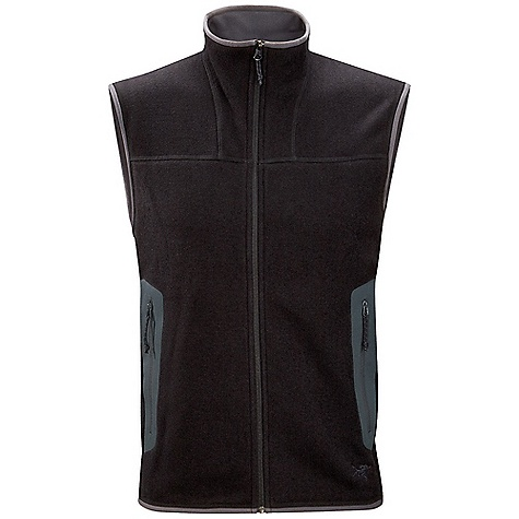 Free Shipping. Arcteryx Men's Covert Vest DECENT FEATURES of the Arcteryx Men's Covert Vest Breathable, quick-drying fabric No-lift gusseted underarms Flatlocked seams won't chafe Two hand pockets with laminated zippers Collar zip for improved venting Embroidered logo Activity: All Around We are not able to ship Arcteryx products outside the US because of that other thing. We are not able to ship Arcteryx products outside the US because of that other thing. We are not able to ship Arcteryx products outside the US because of that other thing. The SPECS Weight: (M): 11.6 oz / 329 g Fit: Athletic Fabric: Polartec Thermal Pro Sweater Knit - 100% Polyester Care Instructions Machine wash in warm water Do not use fabric softener Hang to dry Do not iron This product can only be shipped within the United States. Please don't hate us. - $138.95