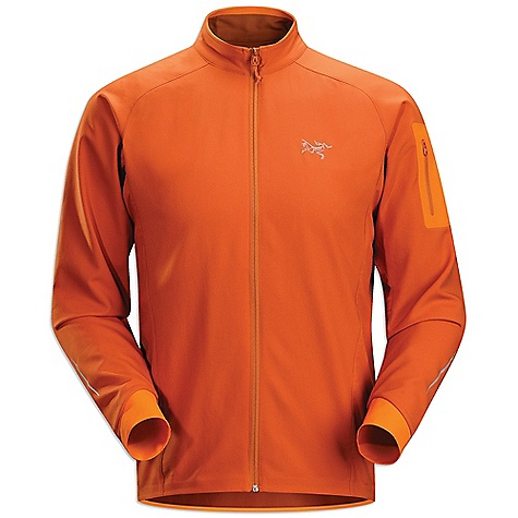 Fitness On Sale. Free Shipping. Arcteryx Men's Accelero Jacket DECENT FEATURES of the Arcteryx Men's Accelero Jacket Air permeable fabric has long lasting water repellency Articulation and no-lift gussets for optimal range of motion Thumbholes hold sleeve in position and protect hands Reflective blades Zippered hip security pocket with media port We are not able to ship Arcteryx products outside the US because of that other thing. We are not able to ship Arcteryx products outside the US because of that other thing. We are not able to ship Arcteryx products outside the US because of that other thing. The SPECS Weight: M: 9.1 oz / 258 g Fit: Trim Dry Web - 100% polyester double-weave Schoeller Dynamic GNS -nylon/spandex This product can only be shipped within the United States. Please don't hate us. - $96.99