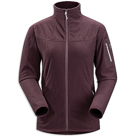 On Sale. Free Shipping. Arcteryx Women's Caliber Cardigan DECENT FEATURES of the Arcteryx Women's Caliber Cardigan Light weight, breathable Polartec Classic Micro Velour Cord Fleece wicks away moisture Two breathable, mesh-lined zippered hand pockets, laminated sleeve pocket with laminated zip No-lift gusseted underarms Moisture-wicking Insulated Quick-drying Contrasting trim Full front zip Activity: Casual/Urban We are not able to ship Arcteryx products outside the US because of that other thing. We are not able to ship Arcteryx products outside the US because of that other thing. We are not able to ship Arcteryx products outside the US because of that other thing. The SPECS Weight: (M): 11.0 oz / 316 g Fit: Athletic, hip length Fabric: Polartec Classic Micro Velour Cord Fleece Care Instructions Machine wash in warm water Do not use fabric softener Tumble dry on low heat Do not iron This product can only be shipped within the United States. Please don't hate us. - $75.99