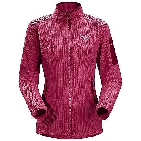 On Sale. Free Shipping. Arcteryx Women's Delta LT Jacket DECENT FEATURES of the Arcteryx Women's Delta LT Jacket Polartec Classic 100 micro velour small grid has high warmth-to-weight ratio High collar provides warmth and layers easily Full front zip with chin guard Sleeve pocket with laminated zip, two zippered hand pockets No-lift gusseted underarms, drop back hem We are not able to ship Arcteryx products outside the US because of that other thing. We are not able to ship Arcteryx products outside the US because of that other thing. We are not able to ship Arcteryx products outside the US because of that other thing. The SPECS Weight: M: 9.2 oz / 263 g Polartec Classic 100 micro velour small grid - 100% polyester Fit: Trim, hip length This product can only be shipped within the United States. Please don't hate us. - $88.99