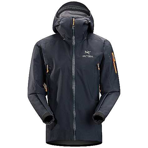 Climbing Free Shipping. Arcteryx Men's Theta SV Jacket DECENT FEATURES of the Arcteryx Men's Theta SV Jacket Waterproof Snow-shedding Windproof Breathable Durable Highly durable Micro-seam allowance (1.6 mm) reduces bulk and weight Tiny Gore seam tape (13 mm) Laminated high-strength hanger loop DWR finish (Durable Water Repellent) helps bead water from fabric surface Fully seam-sealed for waterproofness Gore-Tex three-layer construction Generous cut for easy layering One-hand adjustable drawcords Anatomical shaping for fit and comfort Gender specific patterning Articulated patterning for unrestricted mobility Articulated elbows No-lift gusseted underarms Helmet compatible Storm Hood Laminated brim Glove-friendly hood adjusters Laminated chin guard Water Tight external zippers Molded zipper garages Pit zippers for easy venting Corded zipper-pulls reduce noise and are easy to grab Water Tight Vislon front zip Laminated die-cut Velcro cuff adjusters with elastic Drop back hem Adjustable hem drawcord Laminated hem Full seat coverage Sleeve pocket with Water Tight zip Internal chest pocket with laminated zip Internal mesh pocket Our Water Tight zippers are highly water resistant, but not waterproof We do not recommend keeping items in your pockets that may be damaged by moisture Two high-volume hand pockets Fully reinforced for maximum durability Embroidered logo Non-chafing label Adjustable elastic waist drawcord E3D anatomical patterning and fit Water Tight Vislon center front zipper Two hand pockets and sleeve pocket with laminated Water Tight zippers internal laminated pocket with zippers and internal mesh dump pocket Laminated Water Tight pit zippers Activity: Alpine Climbing We are not able to ship Arcteryx products outside the US because of that other thing. We are not able to ship Arcteryx products outside the US because of that other thing. We are not able to ship Arcteryx products outside the US because of that other thing. The SPECS Weight: (M): 19.4 oz / 549 g Fit: Expedition with e3D, thigh length Fabric: N150p Gore-Tex Pro 3L Care Instructions Machine wash in warm water Double rinse Wash dark colors separately Do not use fabric softener Remove immediately Do not leave wet Tumble dry on medium heat Do not iron This product can only be shipped within the United States. Please don't hate us. - $549.95