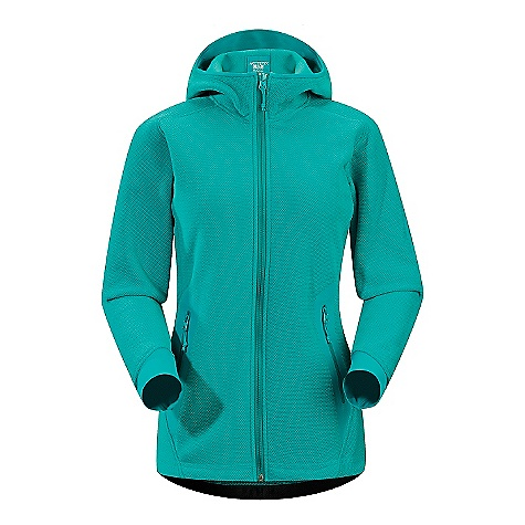 Ski On Sale. Free Shipping. Arcteryx Women's Strato Hoody DECENT FEATURES of the Arcteryx Women's Strato Hoody Moisture wicking, breathable fleece fabric Full front zipper with laminated windflap Two hand pockets with laminated zippers; laminated sleeve pocket with laminated zip Trim, scuba hood with no adjustment Hem cinches tight with adjustable drawcord High warmth-to-weight ratio We are not able to ship Arcteryx products outside the US because of that other thing. We are not able to ship Arcteryx products outside the US because of that other thing. We are not able to ship Arcteryx products outside the US because of that other thing. The SPECS Weight: M: 16.7 oz / 475 g Polartec Thermal Pro Cobble (64% Recycled Content) Schoeller Dynamic GNS Fit: Relaxed, hip length This product can only be shipped within the United States. Please don't hate us. - $122.99