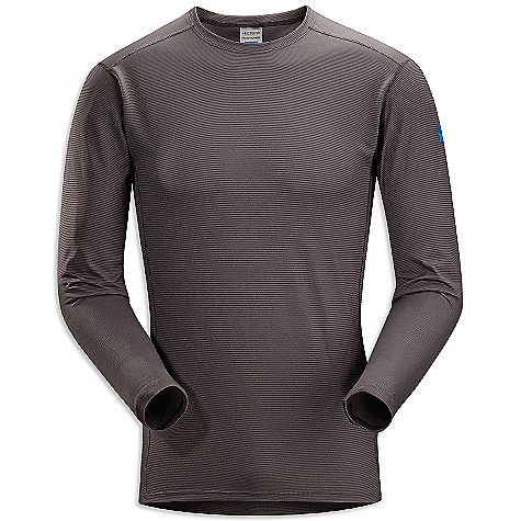 On Sale. Free Shipping. Arcteryx Men's Phase SL Long-Sleeved Crew DECENT FEATURES of the Arcteryx Men's Phase SL Long-Sleeve Crew Moisture-wicking, quick drying and breathable, base layer fabric for cold weather interval activities Minimal odour retention Mechanical stretch fabric, gusseted underarms and anatomical shaping provide freedom of movement UPF +50 The SPECS Weight: (M): 3.7 oz / 105 g Fit: Next-to-skin Fabric: Phasic SL This product can only be shipped within the United States. Please don't hate us. - $44.99