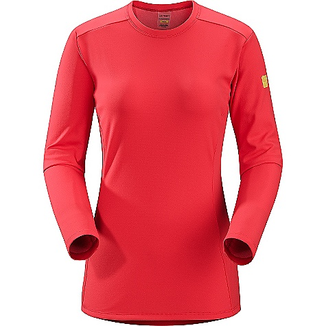 On Sale. Free Shipping. Arcteryx Women's Phase AR Long Sleeved Crew DECENT FEATURES of the Arcteryx Women's Phase AR Long Sleeved Crew Moisture-wicking, quick drying and breathable base layer fabric for cold weather interval activities Minimal odour retention Mechanical stretch fabric, gusseted underarms and anatomical shaping provide freedom of movement Crew neck, long sleeves UPF 50+ We are not able to ship Arcteryx products outside the US because of that other thing. We are not able to ship Arcteryx products outside the US because of that other thing. We are not able to ship Arcteryx products outside the US because of that other thing. The SPECS Weight: (M): 5.1 oz / 146 g Fit: Next-to-skin or second layer Fabric: Phasic AR This product can only be shipped within the United States. Please don't hate us. - $41.99