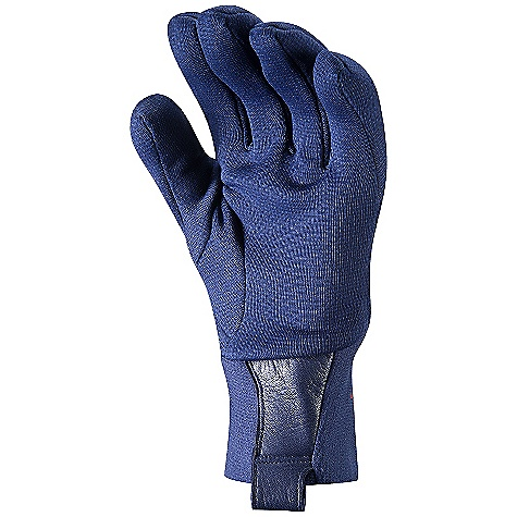 Ski Free Shipping. Arcteryx Rivet AR Glove DECENT FEATURES of the Arcteryx Rivet AR Glove Weather-resistant, breathable, snow shedding Polartec Power Stretch with Hardface Technology, DWR finish Seam-free fingertips Slim fit stretch cuffs reduce layering bulk Leather pull-tab with carabiner clip-in loop We are not able to ship Arcteryx products outside the US because of that other thing. We are not able to ship Arcteryx products outside the US because of that other thing. We are not able to ship Arcteryx products outside the US because of that other thing. The SPECS Weight: M: 1.8 oz / 51 g Fit: Trim Polartec Power Stretch with Hardface Technology Lezanova leather Rentex stretch knit polyester This product can only be shipped within the United States. Please don't hate us. - $49.95