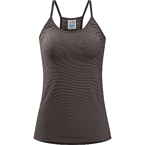 On Sale. Arcteryx Women's Phase SL Camisole DECENT FEATURES of the Arcteryx Women's Phase SL Camisole Moisture-wicking, quick drying and breathable base layer fabric for cold weather interval activities Minimal odour retention Elastic straps add extra comfort UPF 50 + The SPECS Weight: (M): 1.9 oz / 55 g Fit: Next-to-skin Fabric: Phasic SL This product can only be shipped within the United States. Please don't hate us. - $29.99