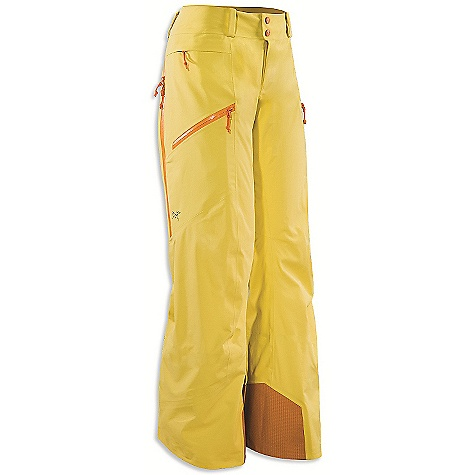 On Sale. Free Shipping. Arcteryx Women's Sentinel Pant DECENT FEATURES of the Arcteryx Women's Sentinel Pant Gore-Tex Soft Shell fabric with brushed backer Posterior thigh vents for temperature control Large cargo pocket and hidden stash pocket Protective Keprotec instep patches Recco reflector We are not able to ship Arcteryx products outside the US because of that other thing. We are not able to ship Arcteryx products outside the US because of that other thing. We are not able to ship Arcteryx products outside the US because of that other thing. The SPECS Weight: (M): 18.1 oz / 512 g Fit: Relaxed fit Fabric: 510NP Gore-Tex Soft Shell 3L Keprotec This product can only be shipped within the United States. Please don't hate us. - $238.99