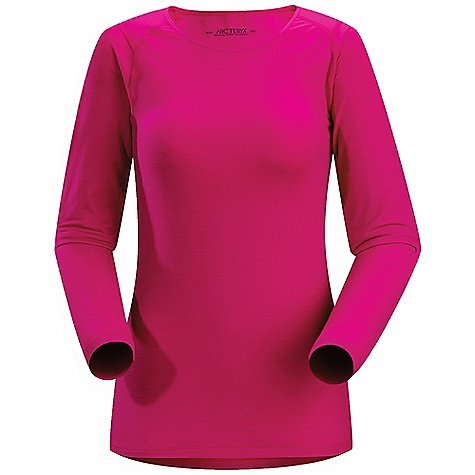 On Sale. Free Shipping. Arcteryx Women's Eon SLW Long Sleeved Crew DECENT FEATURES of the Arcteryx Women's Eon SLW Long Sleeved Crew Flatlocked seams for added comfort Anatomical shaping for increased mobility Long sleeved, crew neck design Breathable Great warmth-to-weight ratio Lightweight Warm-when-wet Minimal odor retention Gusseted underarms Non-chafing label Activity: All Around We are not able to ship Arcteryx products outside the US because of that other thing. We are not able to ship Arcteryx products outside the US because of that other thing. We are not able to ship Arcteryx products outside the US because of that other thing. The SPECS Weight: (M): 6 oz / 169 g Fit: Next-to-skin Fabric: Mountain Merino wool MAPP Merino Wool Care Instructions Machine wash in cold water or dry clean Wash dark colors separately Wash with Wool detergent Tumble dry on low heat Do not leave wet Iron on low heat Do not use fabric softener This product can only be shipped within the United States. Please don't hate us. - $79.99