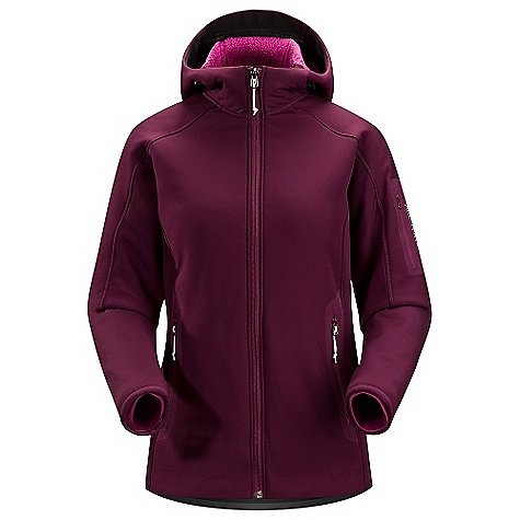 On Sale. Free Shipping. Arcteryx Women's Firee Hoody DECENT FEATURES of the Arcteryx Women's Firee Hoody Highly breathable-maintains comfort during aerobic activity Articulated elbows and underarms for freedom of movement Two hand pockets with laminated zippers, laminated sleeve pocket The SPECS Weight: (M): 21.3 oz / 605 g Fit: Relaxed fit, hip length Fabric: Polartec Power Shield High Loft, Schoeller Dynamic GNS This product can only be shipped within the United States. Please don't hate us. - $270.99