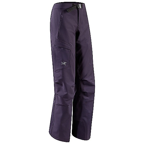 Ski On Sale. Free Shipping. Arcteryx Women's Gamma SK Pant DECENT FEATURES of the Arcteryx Women's Gamma SK Pant Nylon stretch Burly Double Weave fabric has excellent durability and sheds snow High waist provides extra coverage; fly closure and adjustable belt Two hand pockets with zipper; two thigh pockets with Velcro closures Keprotec insteps guard against abrasion from edges We are not able to ship Arcteryx products outside the US because of that other thing. We are not able to ship Arcteryx products outside the US because of that other thing. We are not able to ship Arcteryx products outside the US because of that other thing. The SPECS Weight: M: 19.5 oz / 554 g Burly Double Weave - 46% nylon, 46% polyester, 8% spandex Keprotec Fit: Athletic This product can only be shipped within the United States. Please don't hate us. - $182.99