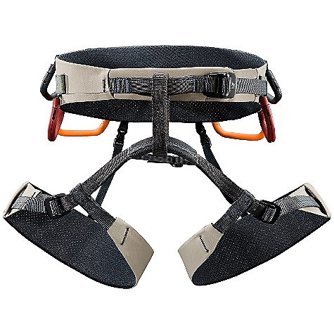 Climbing Free Shipping. Arcteryx B360 Harness DECENT FEATURES of the Arcteryx B360 Harness Extra-wide WST swami evenly supports load across entire harness structure Wear safety markers on belay loop and tie-in points Six gear loops, ten ice clipper slots, two drop seat, buckles, non-structural haul loop Warp Strength Technology 6 Reversible / removable gear loops Non-structural haul loop Adjustable leg loops 10 Ice clipper slots We are not able to ship Arcteryx products outside the US because of that other thing. We are not able to ship Arcteryx products outside the US because of that other thing. We are not able to ship Arcteryx products outside the US because of that other thing. The SPECS Weight: M: 12.7 oz / 360 g 7075-T6 aluminum anodized buckles Burly Double Weave four way stretch fabric Type 6.6 nylon webbing, polyurethane gear loops Spacermesh ALL CLIMBING SALES ARE FINAL. This product can only be shipped within the United States. Please don't hate us. - $174.95