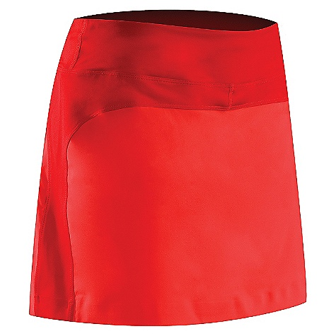 Free Shipping. Arcteryx Women's Solita Skort DECENT FEATURES of the Arcteryx Women's Solita Skort New fabric, refined style, new pocket configuration Mechanical stretch fabric has DWR finish to shed moisture Wide waistband with elastic drawcord Mesh boxer liner Zippered lumbar security pocket; stash pocket on waistband UPF 50+ We are not able to ship Arcteryx products outside the US because of that other thing. The SPECS Weight: M: 4.8 oz / 135 g Fit: Trim Fabric: Invigor - 100% polyester, Suncore - 83% polyester, 17% spandex This product can only be shipped within the United States. Please don't hate us. - $78.95