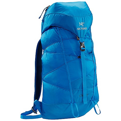 Camp and Hike Free Shipping. Arcteryx Cierzo 25 Pack DECENT FEATURES of the Arcteryx Cierzo 25 Pack HDFB (high-density foam back) suspension Lightweight through design, construction, and materials Fixed top lid pocket with key clip Highly compressible pack for summit assaults that stows in its own lid Removable foam back pad Ultra-light shoulder straps Adjustable position sternum strap 3 mm cord compression system Dual removable ice / mountaineering axe loops 25 mm / 1 inch webbing hipbelt We are not able to ship Arcteryx products outside the US because of that other thing. We are not able to ship Arcteryx products outside the US because of that other thing. We are not able to ship Arcteryx products outside the US because of that other thing. The SPECS Weight: 14.7 oz / 416 g Volume: 1647 cubic inches / 27 liter Extend To: 1952 cubic inches / 32 liter 210D nylon 6.6 ripstop 100D mini ripstop 210D nylon ripstop LD 60 EV 50 Spacermesh This product can only be shipped within the United States. Please don't hate us. - $98.95