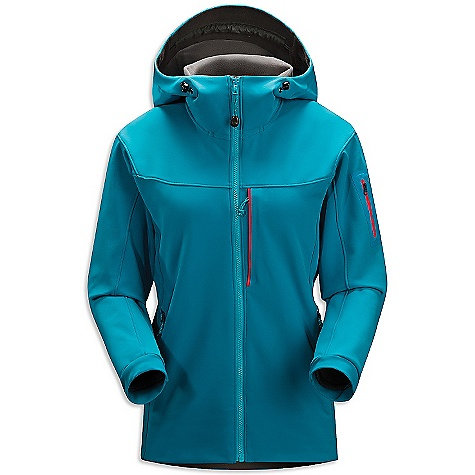 On Sale. Free Shipping. Arcteryx Women's Gamma MX Hoody DECENT FEATURES of the Arcteryx Women's Gamma MX Hoody Mid-weight Fortius 2.0 softshell fabric with DWR finish Helmet compatible Storm Hood Articulated patterning and gusseted underarms for freedom of movement Two hand pockets and one chest pocket, laminated sleeve pocket with laminated zipper We are not able to ship Arcteryx products outside the US because of that other thing. We are not able to ship Arcteryx products outside the US because of that other thing. We are not able to ship Arcteryx products outside the US because of that other thing. The SPECS Weight: M: 20.4 oz / 581 g Fortius 2.0 - 53% polyester, 27% nylon, 20% spandex Fit: Athletic This product can only be shipped within the United States. Please don't hate us. - $243.99