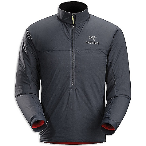 On Sale. Free Shipping. Arcteryx Men's Atom LT Pullover DECENT FEATURES of the Arcteryx Men's Atom LT Pullover Breathable Insulated Lightweight Wind resistant DWR finish (Durable Water Repellent) helps bead water from fabric surface Composite materials Soft brushed-lined collar 1/2 front zip with wind flap Stretch-knit cuffs Drop back hem Laminated hem Internal chest pocket Moisture resistant outer face fabric with DWR finish Compressible and pack able Articulated elbows, gusseted underarms, and stretchy side panel fabric enhance range of motion Deep front half zip with internal chest pocket Activity: All Around We are not able to ship Arcteryx products outside the US because of that other thing. We are not able to ship Arcteryx products outside the US because of that other thing. We are not able to ship Arcteryx products outside the US because of that other thing. The SPECS Weight: (M): 9.9 oz / 283 g Fit: Trim, hip length Fabric: Luminara-100% nylon Polartec Power Stretch with Hard face technology Coreloft 60 insulation (60 g / m2) Care Instructions Hand wash only Do not use fabric softener Tumble dry on medium heat Do not iron This product can only be shipped within the United States. Please don't hate us. - $134.99