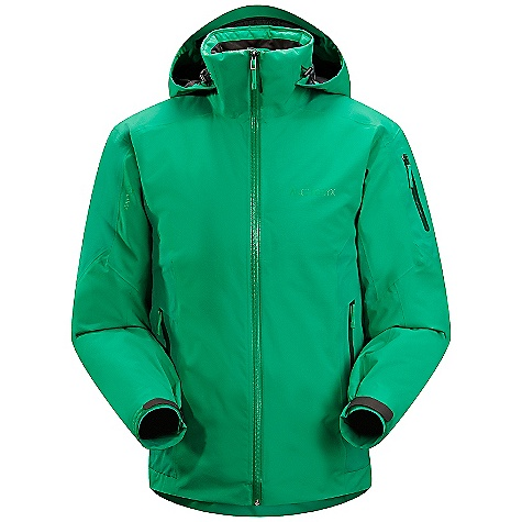 Ski On Sale. Free Shipping. Arcteryx Men's Mako Jacket DECENT FEATURES of the Arcteryx Men's Mako Jacket Breathable Insulated Micro-seam allowance (1.6 mm) reduces bulk and weight Tiny Gore seam tape (13 mm) DWR finish (Durable Water Repellent) helps bead water from fabric surface Articulated patterning for unrestricted mobility Gusseted underarms Laminated brim Adjustable hood drawcords Helmet compatible Drop Hood Insulated collar Water Tight full length front zip Zipper garages to protect zipper closure from snow and rain Webbing zipper pulls Laminated die-cut Velcro cuff adjusters reduce bulk, and won't catch or tear off Sleeve pocket with Water Tight zip Internal chest pocket with laminated zip Internal mesh pocket Two hand pockets with Water Tight zippers Powder skirt with gripper elastic and snap closure Mesh-lined powder guard vents for breathability, designed to prevent snow from entering clothing Hidden Recco reflector Supple Gore-Tex Pro is windproof, waterproof, durable Two weights of Core loft insulation provide radiant warmth Pit zips with mesh Powder Guard vents keep out snow, vent heat Drop Hood with insulated collar sleeve pocket, hand pockets, internal mesh dump pocket Recon reflector aids emergency location powder skirt with stretch panel Activity: Ski/Snowboard We are not able to ship Arcteryx products outside the US because of that other thing. We are not able to ship Arcteryx products outside the US because of that other thing. We are not able to ship Arcteryx products outside the US because of that other thing. The SPECS Weight: (M): 30 oz / 854 g Fit: Athletic, hip length Fabric: N70p Gore-Tex Pro 3L Coreloft100 insulation (100g/m2) (body) Core loft 80 insulation (80g/m2) (sleeve) Co reline Care Instructions Machine wash in warm water Do not use fabric softener Front load washing machine recommended (use a mesh bag for top loading machines) Tumble dry on low heat Do not iron This product can only be shipped within the United States. Please don't hate us. - $488.99