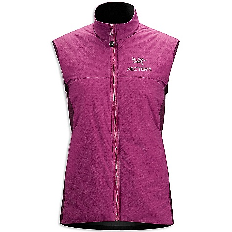Free Shipping. Arcteryx Women's Atom LT Vest DECENT FEATURES of the Arcteryx Women's Atom LT Vest Lightweight wind-resistant face fabric with DWR finish, warm and resilient synthetic Coreloft insulation Low profile, stretch side panels provide a trim fit and ventilation Softly brushed, insulated collar, layers easily Two hand pockets with zippers, internal chest pocket with zipper, hem drawcord We are not able to ship Arcteryx products outside the US because of that other thing. We are not able to ship Arcteryx products outside the US because of that other thing. We are not able to ship Arcteryx products outside the US because of that other thing. The SPECS Weight: M: 6.8 oz / 193 g Luminara - 100% nylon Polartec Power Stretch with Hardface technology - 88% polyester, 12% spandex Coreloft 60 insulation (60 g/m2) Fit: Trim, hip length This product can only be shipped within the United States. Please don't hate us. - $144.95