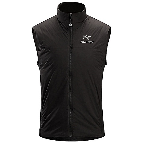 Free Shipping. Arcteryx Men's Atom LT Vest DECENT FEATURES of the Arcteryx Men's Atom LT Vest Lightweight wind-resistant face fabric with DWR finish, warm and resilient synthetic Coreloft insulation Warm and resilient synthetic Coreloft insulation Low profile, stretch side panels provide a trim fit Soft, brushed, insulated collar, layers easily Two hand pockets with zippers, internal chest pocket with zipper, hem drawcord We are not able to ship Arcteryx products outside the US because of that other thing. The SPECS Weight: M: 7.9 oz / 225 g Fit: Trim, hip length Luminara - 100% nylon Polartec Power Stretch with Hardface technology - 88% polyester, 12% spandex Coreloft 60 insulation (60 g/m2) This product can only be shipped within the United States. Please don't hate us. - $144.95