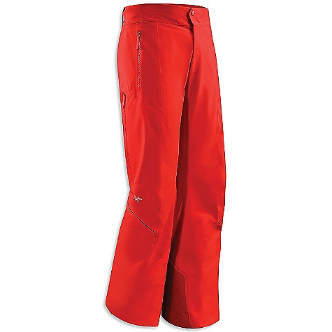 On Sale. Free Shipping. Arcteryx Men's Ventii Pant DECENT FEATURES of the Arcteryx Men's Verto Pant Stealth waist adjustment system - hidden adjusters cinch tight under belt loops Mesh lined vents aid breathability Plush-lined waistband adds comfort Keprotec in-step patch Recco reflector We are not able to ship Arcteryx products outside the US because of that other thing. We are not able to ship Arcteryx products outside the US because of that other thing. We are not able to ship Arcteryx products outside the US because of that other thing. The SPECS Weight: (M): 23 oz / 654 g Fit: Trim fit Fabric: 434SN Gore-Tex Pro Shell with stretch, Coreline, Keprotec This product can only be shipped within the United States. Please don't hate us. - $358.99