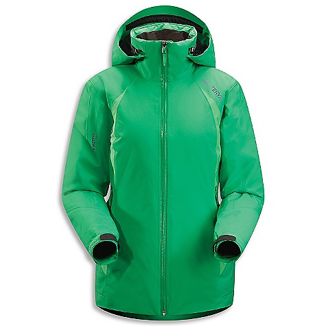 Ski On Sale. Free Shipping. Arcteryx Women's Moray Jacket DECENT FEATURES of the Arcteryx Women's Moray Jacket Breathable Insulated Micro-seam allowance (1.6 mm) reduces bulk and weight Tiny GORE seam tape (13 mm) DWR finish (Durable Water Repellent) helps bead water from fabric surface Gore-Tex three-layer construction Non-quilted, laminated construction eliminates cold spots Gender specific patterning Articulated patterning for unrestricted mobility Laminated brim Adjustable hood drawcords Helmet compatible Drop Hood WaterTight Vislon front zip with insulated wind flap Laminated die-cut Velcro cuff adjusters reduce bulk, and won't catch or tear off Adjustable hem drawcord Sleeve pocket with WaterTight zip Internal chest pocket with laminated zip Internal mesh pocket Two hand pockets with WaterTight zippers Powder skirt with gripper elastic and snap closure Mesh-lined powder guard vents for breathability, designed to prevent snow from entering clothing Hidden Recco reflector Supple Gore-Tex is windproof, waterproof, durable Two weights of Coreloft insulation provide radiant warmth Powder Guard vents prevent snow entry, aids temperature regulation Drop Hood with insulated collar sleeve pocket, hand pockets, internal mesh dump pocket Recco reflector aids emergency location powder skirt with stretch panel Activity: Ski/Snowboard We are not able to ship Arcteryx products outside the US because of that other thing. We are not able to ship Arcteryx products outside the US because of that other thing. We are not able to ship Arcteryx products outside the US because of that other thing. The SPECS Weight: (M): 27 oz / 766 g Fit: Athletic Fabric: N70p Gore-Tex Pro 3L Coreloft 100 insulation (100 g / m2)(body) Coreloft 80 insulation (80 g / m2) (sleeve) Coreline liner Care Instructions Machine wash in warm water Do not use fabric softener Front load washing machine recommended (use a mesh bag for top loading machines) Tumble dry on low heat Do not iron This product can only be shipped within the United States. Please don't hate us. - $418.99