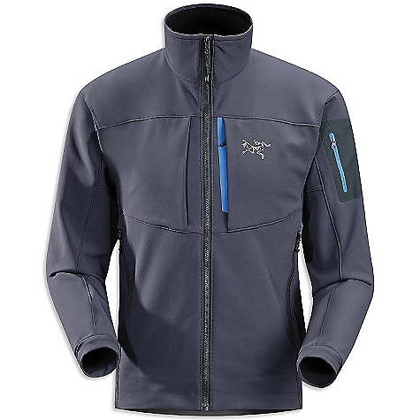 On Sale. Free Shipping. Arcteryx Men's Gamma MX Jacket DECENT FEATURES of the Arcteryx Men's Gamma MX Jacket Lightweight soft-shell fabric sheds precipitation and provides warmth DWR finish Articulated patterning, and gusseted underarms for freedom of movement Two hand pockets and two chest pockets, laminated sleeve pocket with laminated zipper We are not able to ship Arcteryx products outside the US because of that other thing. We are not able to ship Arcteryx products outside the US because of that other thing. We are not able to ship Arcteryx products outside the US because of that other thing. The SPECS Weight: (M): 20 oz / 576 g Fit: Athletic fit, hip length Fabric: Fortius 2.0 This product can only be shipped within the United States. Please don't hate us. - $238.99