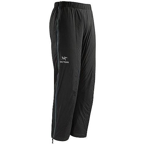Free Shipping. Arcteryx Atom LT Pant DECENT FEATURES of the Arcteryx Atom LT Pant Lightweight wind-resistant face fabric with DWR finish, warm and resilient synthetic Coreloft insulation Warm and resilient synthetic Coreloft insulation Fully articulated knees and seat for optimal range of motion Fully separating side zippers with laminated windflap allow for easy removal over boots and crampons Stuffs into its own hanging pocket for easy storage We are not able to ship Arcteryx products outside the US because of that other thing. We are not able to ship Arcteryx products outside the US because of that other thing. We are not able to ship Arcteryx products outside the US because of that other thing. The SPECS Weight: M: 12.5 oz / 355 g Fit: Trim Luminara - 100% nylon Coreloft 60 insulation (60 g/m2) This product can only be shipped within the United States. Please don't hate us. - $188.95