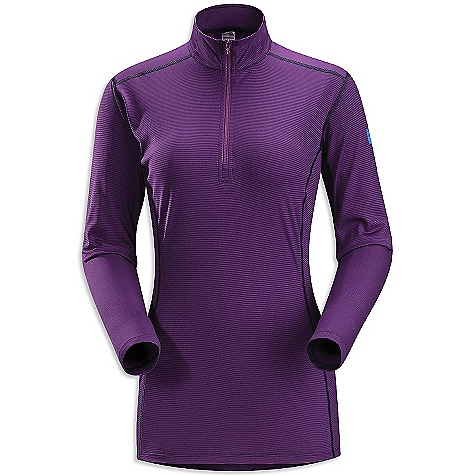 On Sale. Free Shipping. Arcteryx Women's Phase SL Zip Neck DECENT FEATURES of the Arcteryx Women's Phase SL Zip Neck Moisture-wicking, quick drying and breathable base layer fabric for cold weather interval activities Minimal odour retention Mechanical stretch fabric, gusseted underarms and anatomical shaping provide freedom of movement Zippered neck for easy on/off and improved venting UPF 50 + The SPECS Weight: (M): 4 oz / 113 g Fit: Next-to-skin Fabric: Phasic SL This product can only be shipped within the United States. Please don't hate us. - $41.99