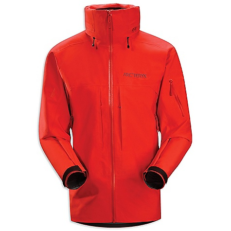 Ski Free Shipping. Arcteryx Men's Vertical Jacket DECENT FEATURES of the Arcteryx Men's Vertical Jacket Breathable Durable Micro-seam allowance (1.6 mm) reduces bulk and weight Tiny Gore seam tape (13 mm) Gore-Tex three-layer construction One-hand adjustable drawcords Articulated elbows No-lift gusseted underarms Stealth hood adjusters Helmet compatible Stow Hood Laminated chin guard with brushed microsuede facing for added comfort Pit zippers for easy venting Water Tight Vislon front zip Zipper garages to protect zipper closure from snow and rain Webbing zipper pulls Laminated die-cut Velcro cuff adjusters reduce bulk, and won't catch or tear off Drop back hem Adjustable hem drawcord Internal chest pocket with laminated zip Internal mesh pocket Two high-volume chest pockets with hidden zippers Two hand pockets with Water Tight zippers Our Water Tight zippers are highly water resistant, but not waterproof We do not recommend keeping items in your pockets that may be damaged by moisture Powder skirt with gripper elastic and snap closure Hidden Recco reflector Gore-Tex Pro fabric is durable, windproof, waterproof, abrasion resistant Water Tight pit zippers open for ventilation Stow Hood with high collar protects neck, prevents drafts Internal mesh dump pocket, zippered hand pockets, chest, sleeve and internal pockets Recon reflector aids emergency location powder skirt with elastic and snap closure Activity: Big Mountain Skiing The SPECS Weight: (M): 22 oz / 608 g Fit: Expedition with e3D, hip length Fabric: N150p Gore-Tex Pro 3L N40p-X Gore-Tex Pro 3L (hood) Care Instructions Machine wash in warm water Double rinse Do not use fabric softener Tumble dry on medium heat Do not iron This product can only be shipped within the United States. Please don't hate us. - $598.95